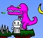Speel het nieuwe girl spel: Blob blob avontuur