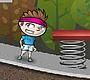 Speel het nieuwe girl spel: Rooftop Raiser