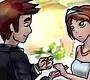 Speel het nieuwe girl spel: Bruid Kussen