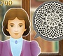 Play the new Girl Flash Game: Decorative Doilies