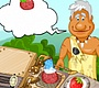Play the new Girl Flash Game: Stone Age Cooking
