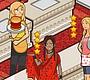 Speel het nieuwe girl spel: Burger Restaurant 3