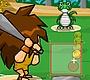 Speel het nieuwe girl spel: Jurassic Homerun King