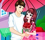 Play the new Girl Flash Game: Romantic Rainy Valentine
