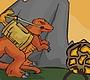 Speel het nieuwe girl spel: Dino duel