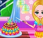 Play the new Girl Flash Game: Girl with her Birthday Cake