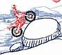Speel het nieuwe girl spel: Sketch Ride