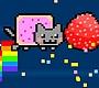 Speel het nieuwe girl spel: Vliegende Nyan Cat