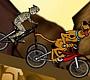 Speel het nieuwe girl spel: Scooby BMX Action