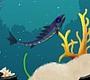 Speel het nieuwe girl spel: Azuurblauwe Vis