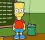 Speel het nieuwe girl spel: Bart Simpson Saw Game