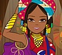 Play the new Girl Flash Game: African Colours