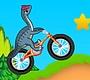 Speel het nieuwe girl spel: Dinosaurus Fiets Stunts