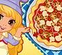 Speel het nieuwe girl spel: Lily is een Pizzabakker