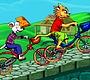 Speel het nieuwe girl spel: Tom & Jerry op de Fiets