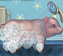 Play the new Girl Flash Game: Clean Little Piggy