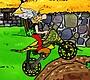 Speel het nieuwe girl spel: Asterix & Obelix Bike