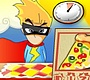 Speel het nieuwe girl spel: Superhero Pizza