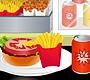 Speel het nieuwe girl spel: Burger Diner