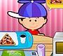 Speel het nieuwe girl spel: Yum Yum Pizza's