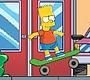 Speel het nieuwe girl spel: Bart Simpson Boarding