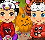 Play the new Girl Flash Game: Baby Twins Halloween Costumes