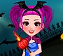 Play the new Girl Flash Game: Halloween Girl Dress Up