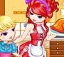 Speel het nieuwe girl spel: Kalkoen Koken met Mama