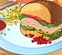 Speel het nieuwe girl spel: Sandwich met Kalkoen