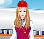 Play the new Girl Flash Game: Glamorous Air Hostess