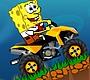 Speel het nieuwe girl spel: Spongebob Quad