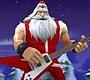 Speel het nieuwe girl spel: Kerstman Rockster 4
