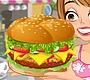 Speel het nieuwe girl spel: Cheeseburger Maken