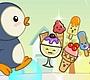 Speel het nieuwe girl spel: Hongerige Pinguin