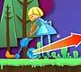 Speel het nieuwe girl spel: Crazy Croquet