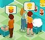 Speel het nieuwe girl spel: Supermarkt Runnen