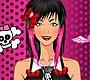 Speel het nieuwe girl spel: Gothic Haar en Make-up