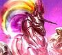 Speel het nieuwe girl spel: Robot Unicorn Aanval 3