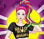 Speel het nieuwe girl spel: Punk Style Dress Up