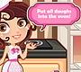 Speel het nieuwe girl spel: Bruiloftstaart Bakken