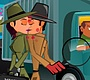 Speel het nieuwe girl spel: Undercovers Kussen