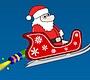 Speel het nieuwe girl spel: Turbo Kerstman 1