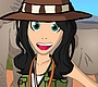 Play the new Girl Flash Game: Safari Dress Up