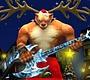 Speel het nieuwe girl spel: Kerstman Rockster 5