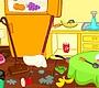 Speel het nieuwe girl spel: Keuken Opruimen