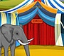 Play the new Girl Flash Game: Elephant Circus