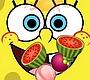 Speel het nieuwe girl spel: Fruit Snijden met Spongebob