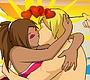 Speel het nieuwe girl spel: Strand Kus