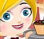 Speel het nieuwe girl spel: Cupcake Rush