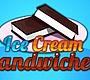 Speel het nieuwe girl spel: IJs Sandwiches